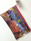 Estojo escolar Disney Cars Transparente 25cm