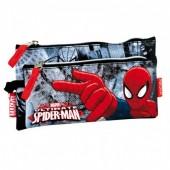 Estojo escolar duplo Marvel Spiderman Dark