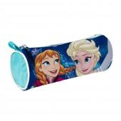 Estojo Escolar Frozen Sisters Forever Blue