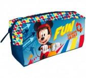 Estojo escolar Fun  Mickey Disney 22cm