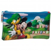 Estojo escolar Mickey & Pluto Best Friends