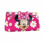 Estojo escolar Minnie 3D Disney - Flowers