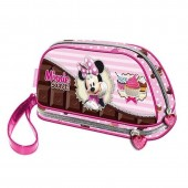 Estojo escolar necessaire Disney Minnie Sweet Cake