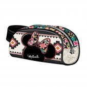 Estojo escolar necessaire Disney Minnie Tribal
