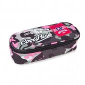 Estojo Escolar Oval CoolPack Badges Camo Pink