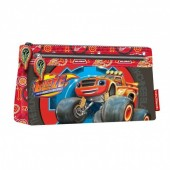 Estojo escolar plano Blaze and the Monster Machines Wheel
