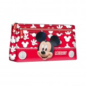 Estojo escolar plano de Mickey Mouse - Funny