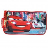 Estojo escolar plano Disney Cars Neon City