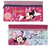 Estojo escolar plano sortido Disney Minnie Adorable Me