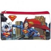 Estojo escolar plano Superman