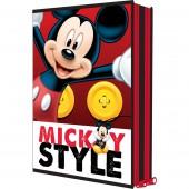 Estojo escolar Plumier duplo Mickey 16 Peças