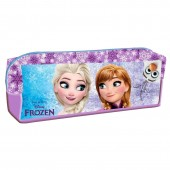 Estojo escolar rectangular do filme Frozen