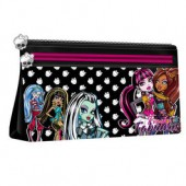 Estojo escolar simples Monster High Fabulous