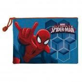 Estojo escolar simples Spiderman - Carrying All.