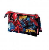Estojo escolar Spiderman Marvel Triplo