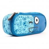Estojo escolar Spirit  - Emoticons Blue