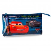 Estojo escolar triplo Cars Disney - Racing Series
