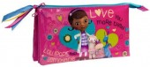 Estojo escolar Triplo Doutora Brinquedos-Lollipops