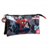 Estojo escolar triplo Marvel Spiderman Go Spidey