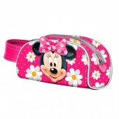 Estojo grande de Minnie Mouse 3D Flowers