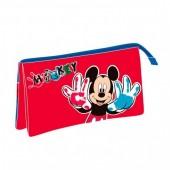 Estojo Mickey Triplo flash