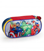 Estojo Oval Avengers Marvel