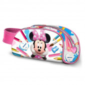 Estojo oval com pega Minnie School