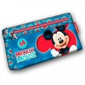 Estojo Plano Mickey Disney 22cm
