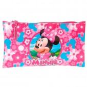 Estojo Plano Minnie - Pink