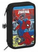 Estojo Plumier duplo 28 peças de Spiderman - Graphic Art