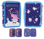 Estojo Plumier duplo George Outer Space