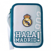Estojo Plumier Duplo Hala Real Madrid