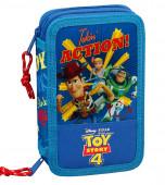Estojo Plumier Duplo Toy Story 4 Action