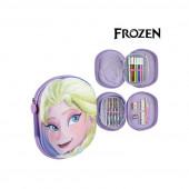 Estojo Plumier Lilás 3D Elsa Frozen