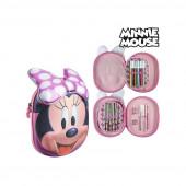 Estojo Plumier Rosa 3D Minnie Mouse
