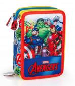 Estojo Plumier Triplo Avengers Marvel