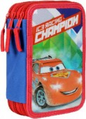 Estojo Plumier triplo Cars - Champion