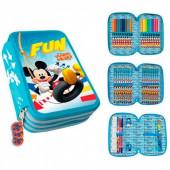 Estojo Plumier Triplo Mickey Fun
