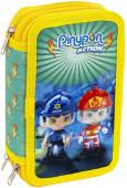 Estojo Plumier Triplo Pinypon Action