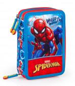 Estojo Plumier Triplo Spiderman Webbed Wonder