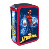 Estojo Plumier triplo Spiderman