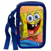 Estojo Plumier Triplo Sponge Bob