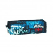 Estojo Quadrado 21 cm No Fear One Blue