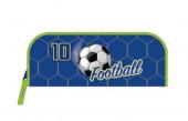 Estojo Retangular Futebol Azul
