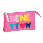 Estojo Triplo Benetton Heart