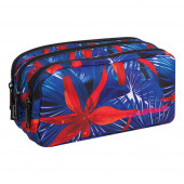 Estojo Triplo Coolpack Hawaian Blue