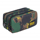 Estojo Triplo Coolpack Military Jungle