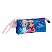 Estojo triplo Frozen Disney - Northern Lights