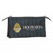 Estojo Triplo Harry Potter Hogwarts