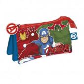 Estojo Triplo Marvel Avengers